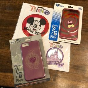 Patches and phone cases